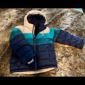 L.L. Bean Toddlers' Down Jacket, Colorblock